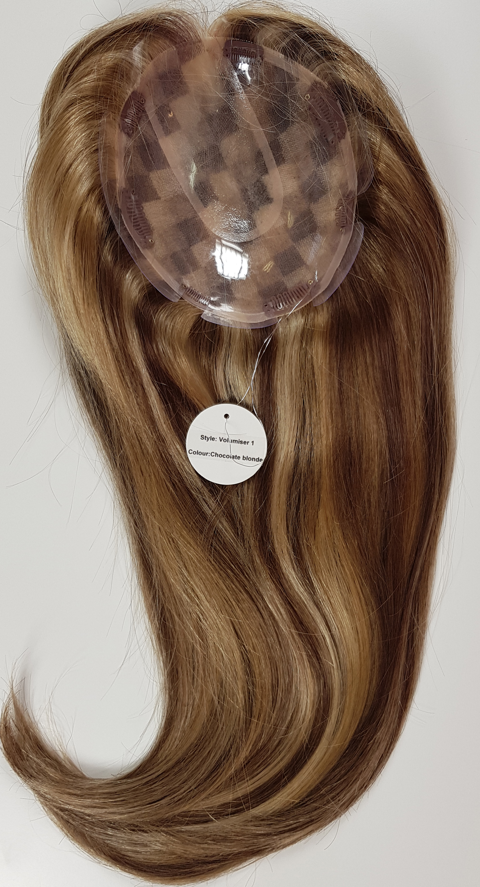 Hair Toppers Style Juliet Colour Chocolate Blonde