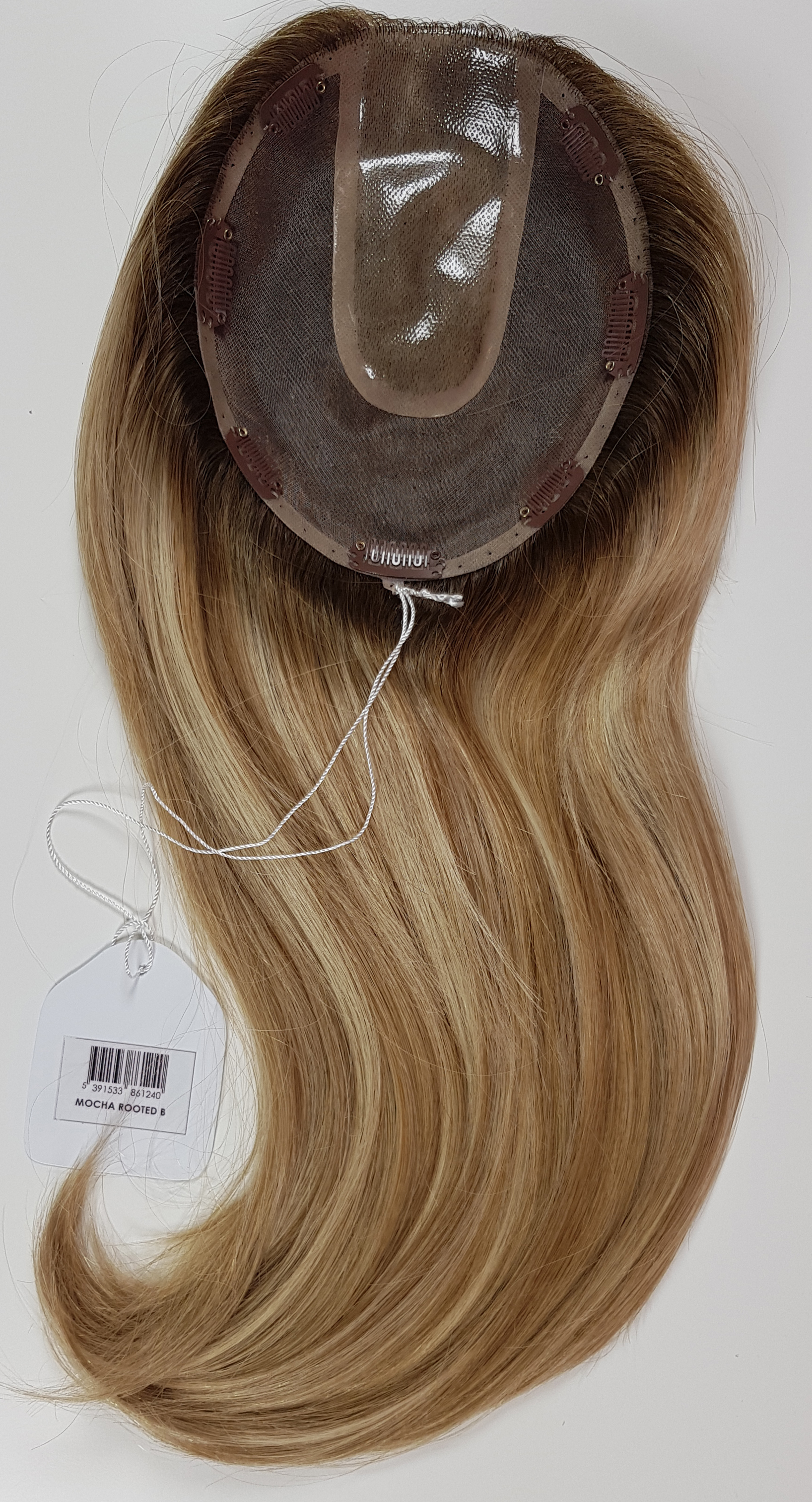 Hair Toppers Style Juliet Colour Mocha Rooted B
