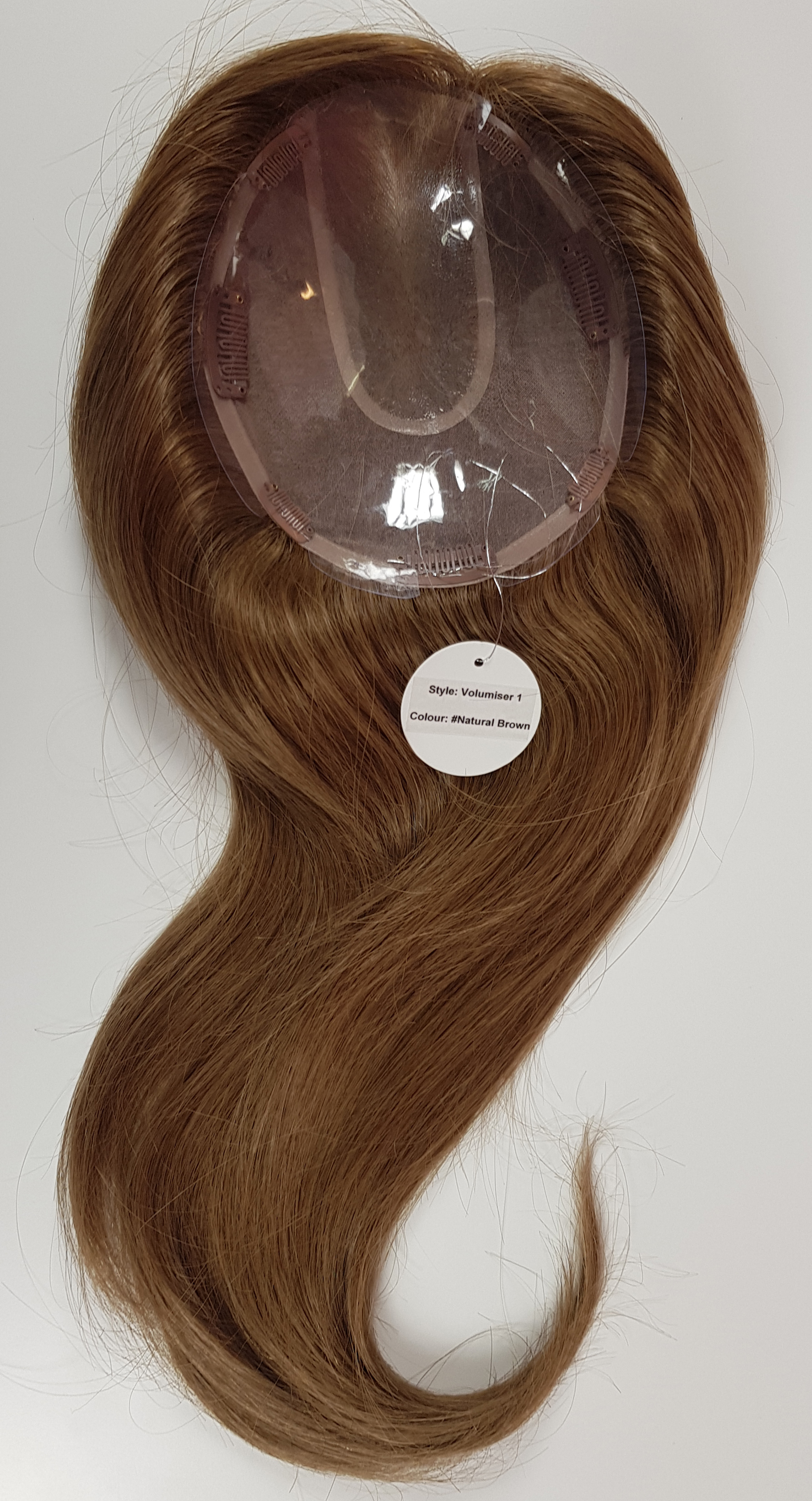 Hair Toppers Style Juliet Colour Natural Brown