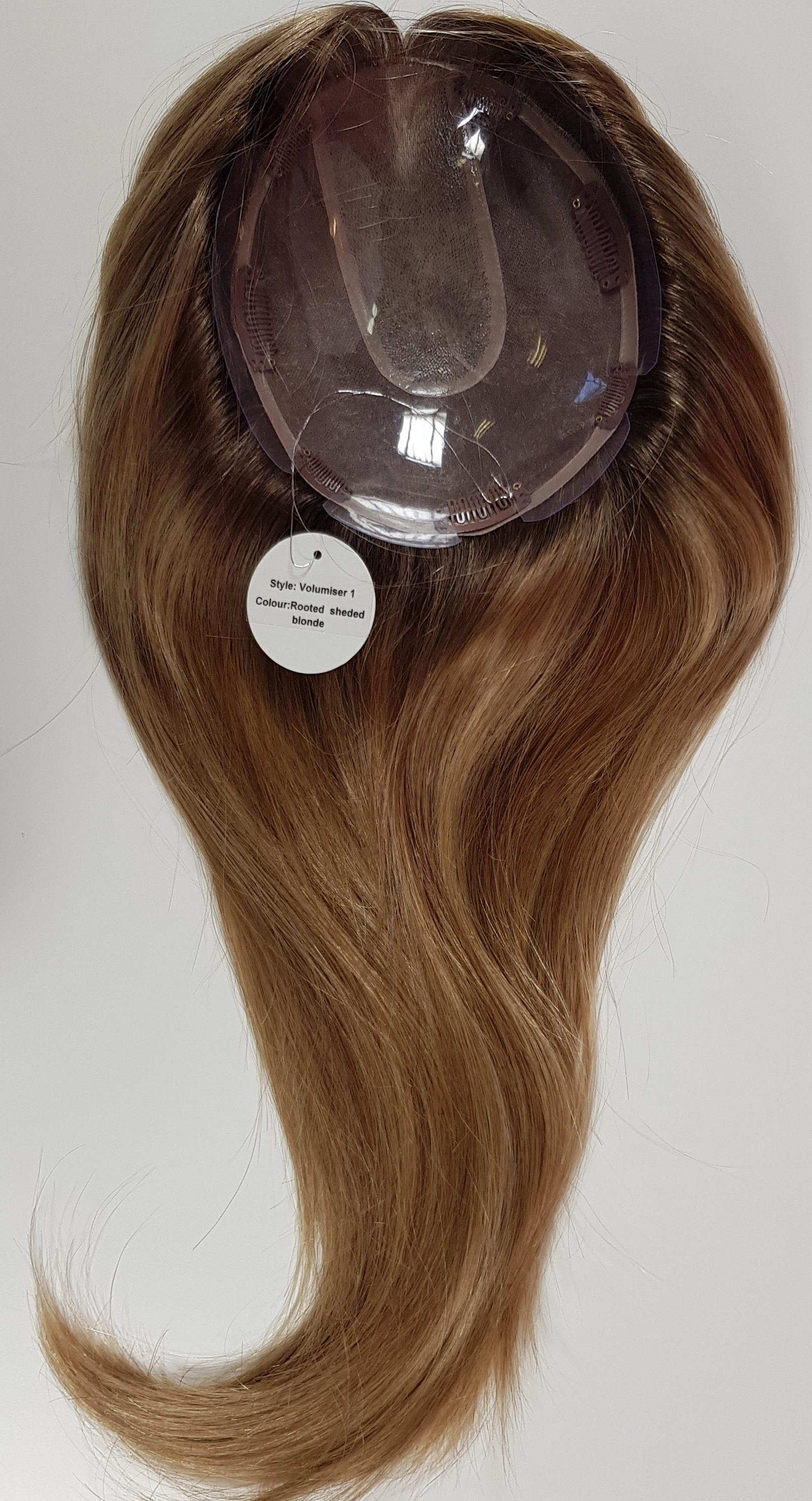 Hair Toppers Style Juliet Colour Rooted Sheded Blonde