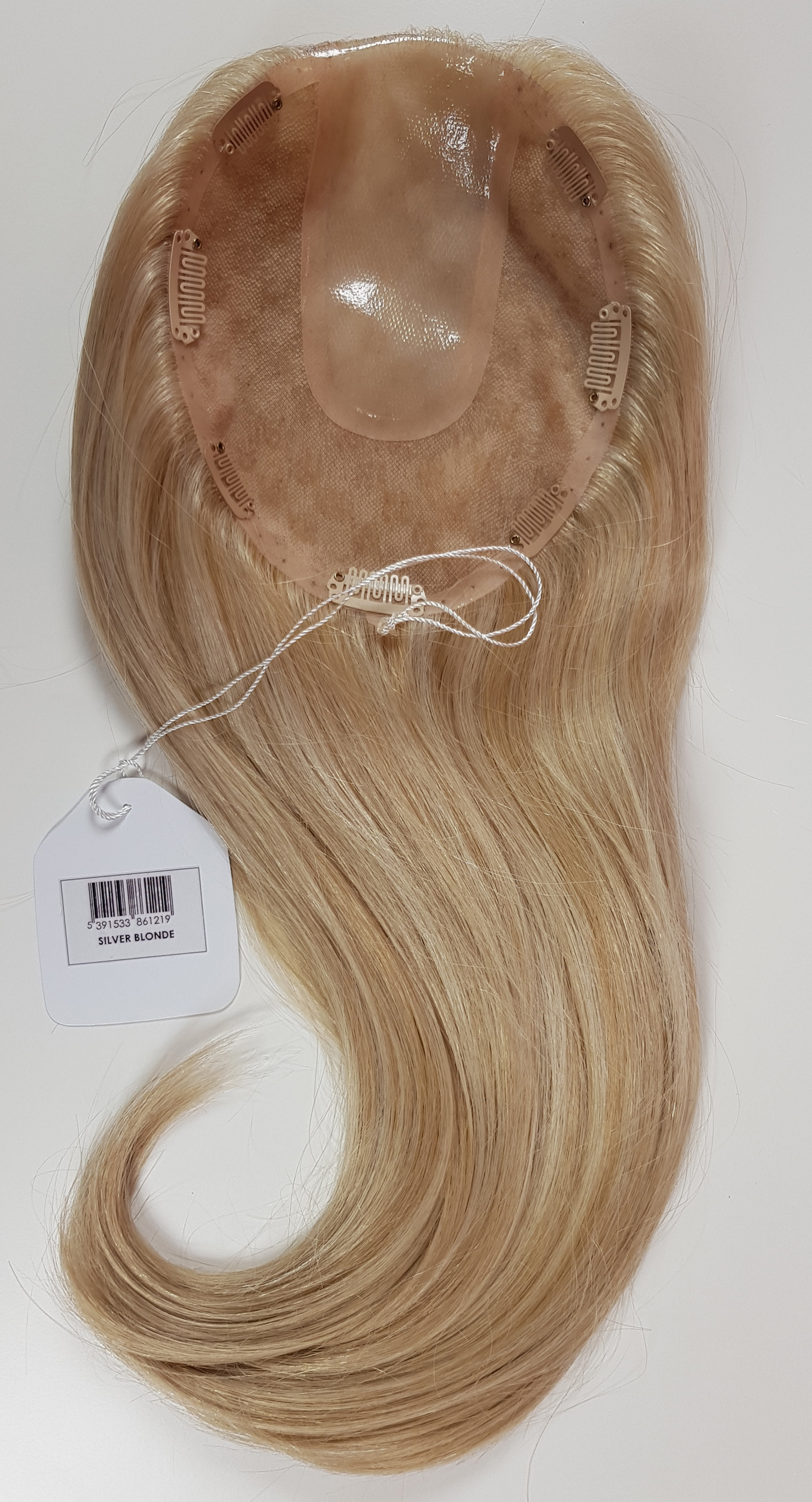 Hair Toppers Style Juliet Colour Silver Blonde